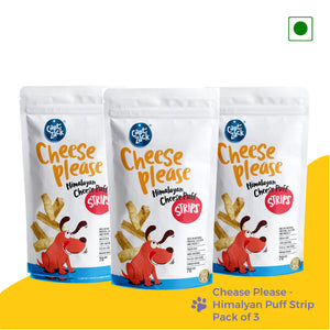 Cheese Please Himalayan Puff Strips Pack Of 3