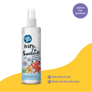 PetMe, I'm Sanitized! 250 ML - Captain Zack