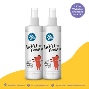Tick'et To Fleadom 250ml Pawesome Care Pack of 2