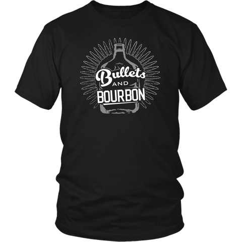 Bullets And Bourbon Tee Shirt