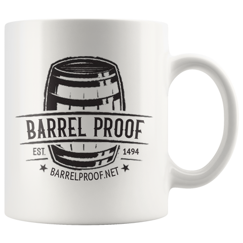 Barrel Proof Logo Coffee Mug