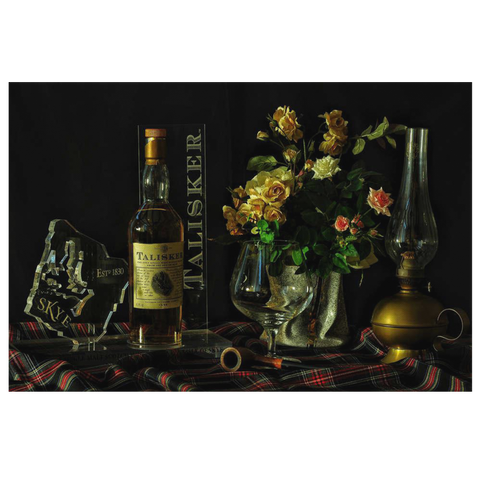 Talisker Scotch Canvas Wall Art