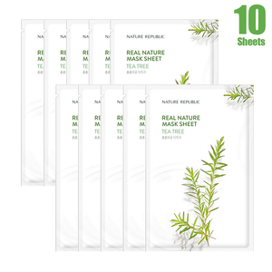 Real Nature Tea Tree Mask Sheet (10 SHEETS)