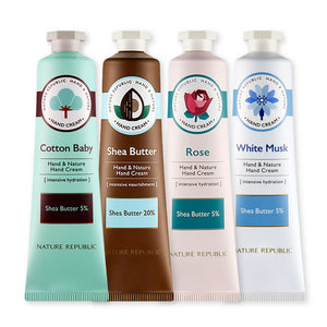 Hand & Nature Hand Cream Mixed Set (PACK OF 4)