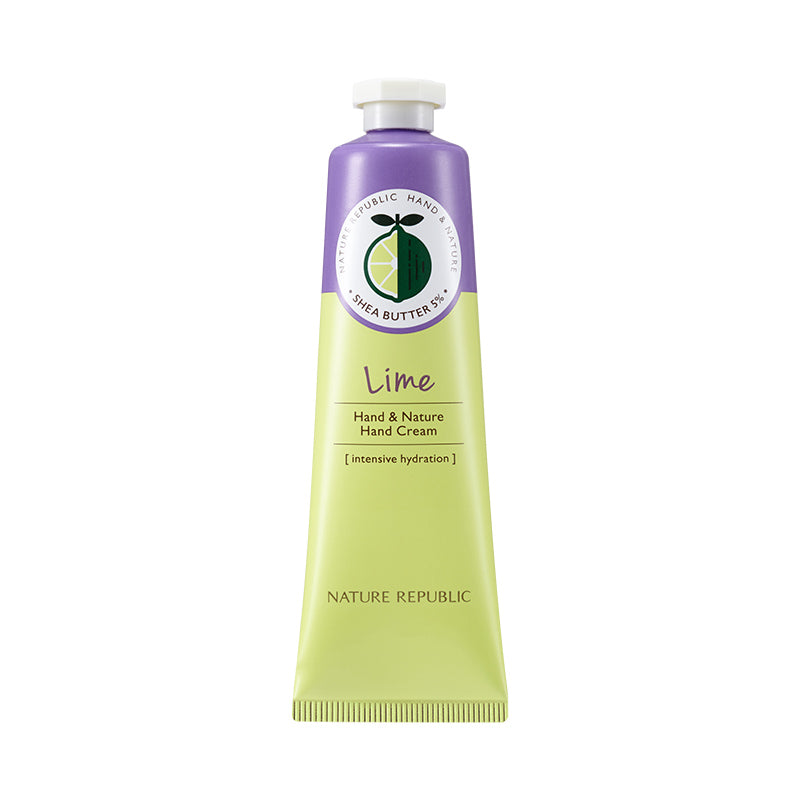 Hand & Nature Lime Hand Cream