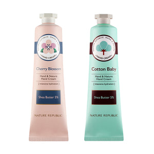 HAND & NATURE HAND CREAM MIXED SET (PACK OF 2)