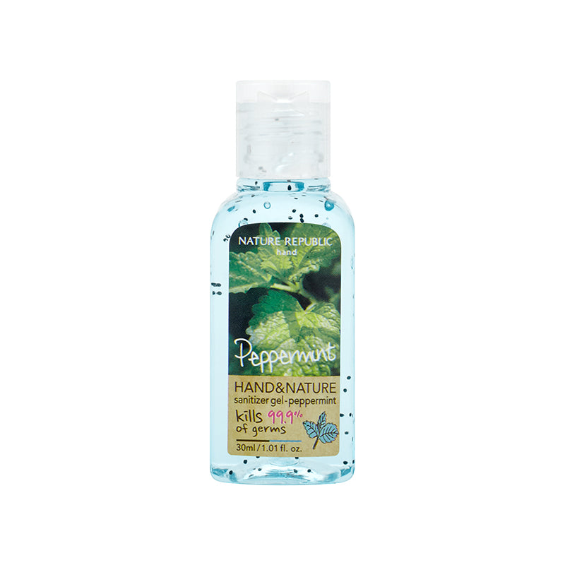 HAND & NATURE SANITIZER PEPPERMINT