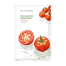Load image into Gallery viewer, Real Nature Tomato Mask Sheet