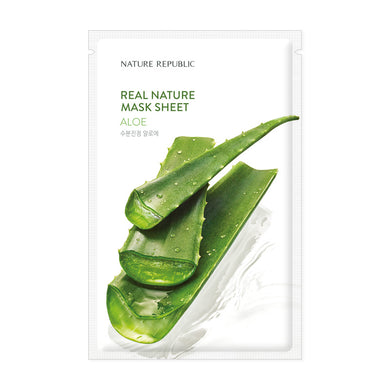 REAL NATURE ALOE MASK SHEET