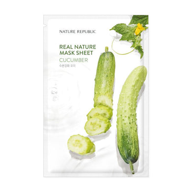 Real Nature Cucumber Mask Sheet