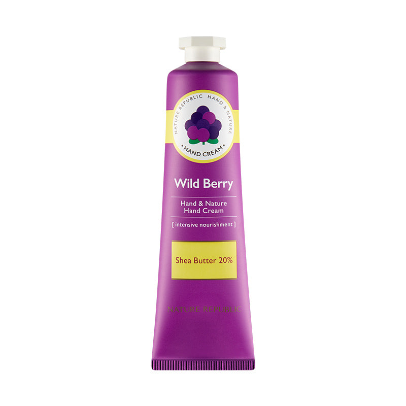 Hand & Nature Wild Berry Hand Cream