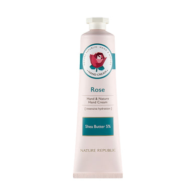 HAND & NATURE ROSE HAND CREAM