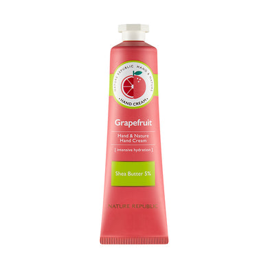 HAND & NATURE GRAPEFRUIT HAND CREAM