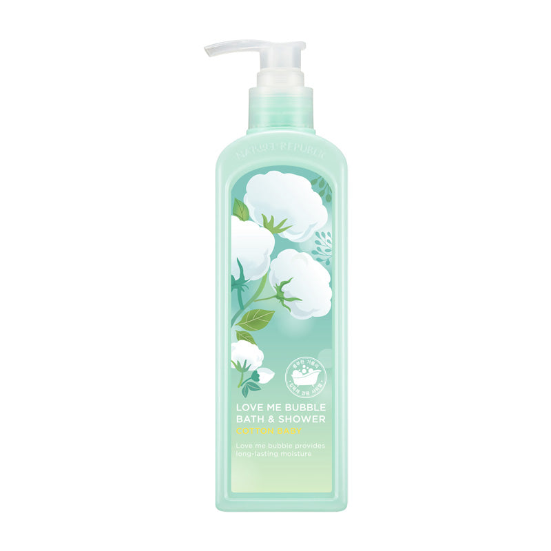 Love Me Bubble Bath & Shower Gel-Cotton Baby