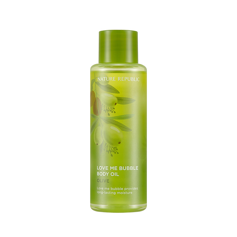 LOVE ME BUBBLE BODY OIL-OLIVE