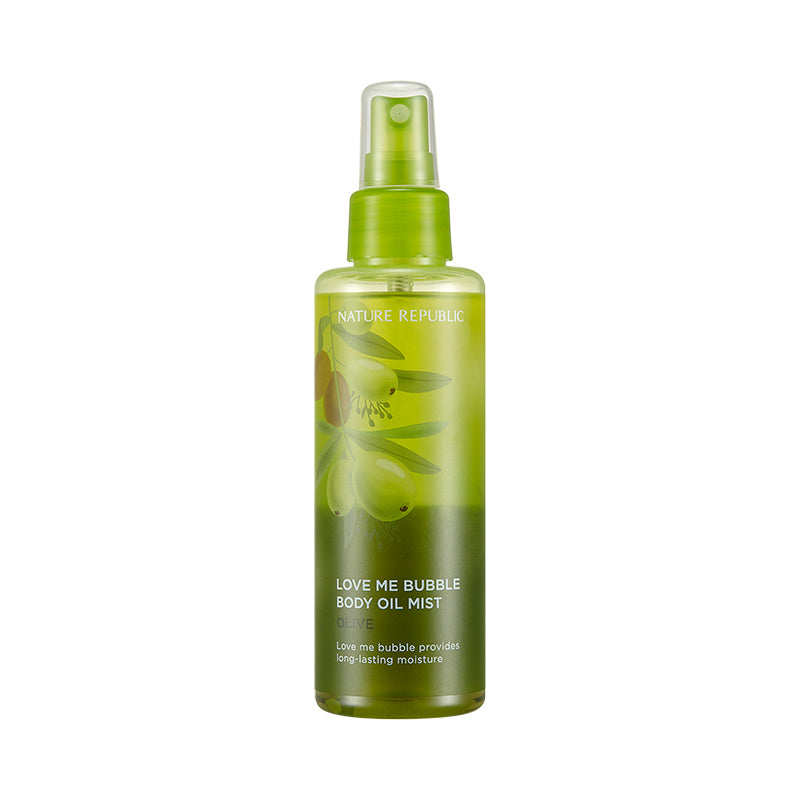 Love Me Bubble Body Oil Mist - Olive