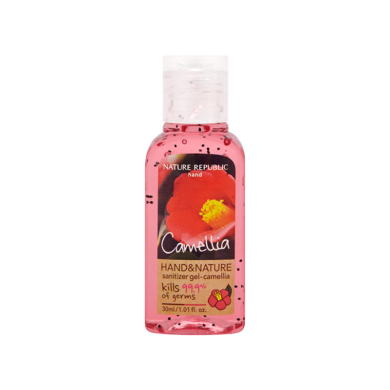 Load image into Gallery viewer, HAND & NATURE SANITIZER CAMELLIA