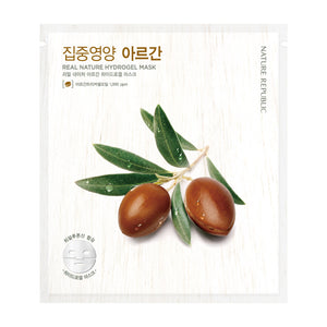 REAL NATURE ARGAN HYDROGEL MASK
