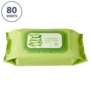 CALIFORNIA ALOE VERA CLEANSING TISSUE (80 SHEETS)