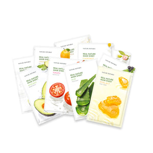 Assorted Real Nature Mask Sheets (PACK OF 10)