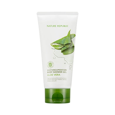 SOOTHING & MOISTURE ALOE VERA BODY SHOWER GEL