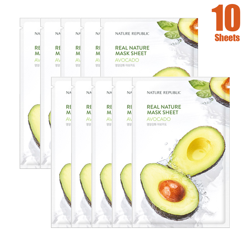 Real Nature Avocado Mask (10 SHEETS)