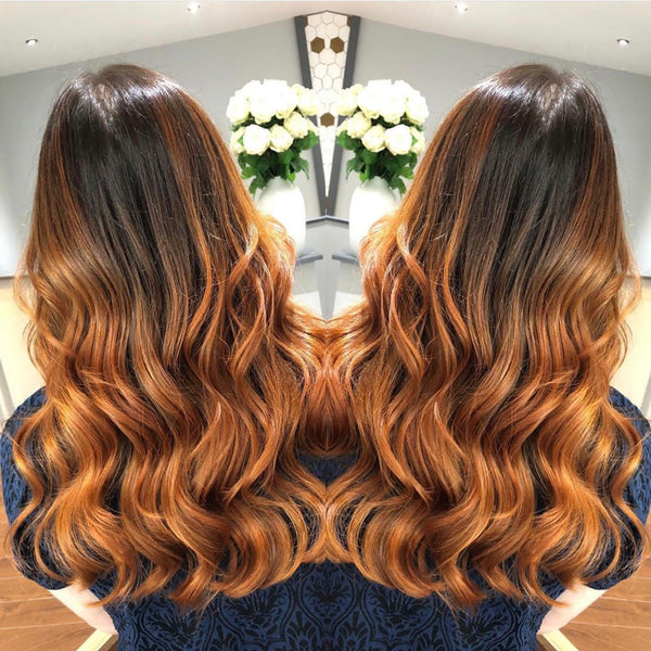 Autumn Balayage Hair Colour
