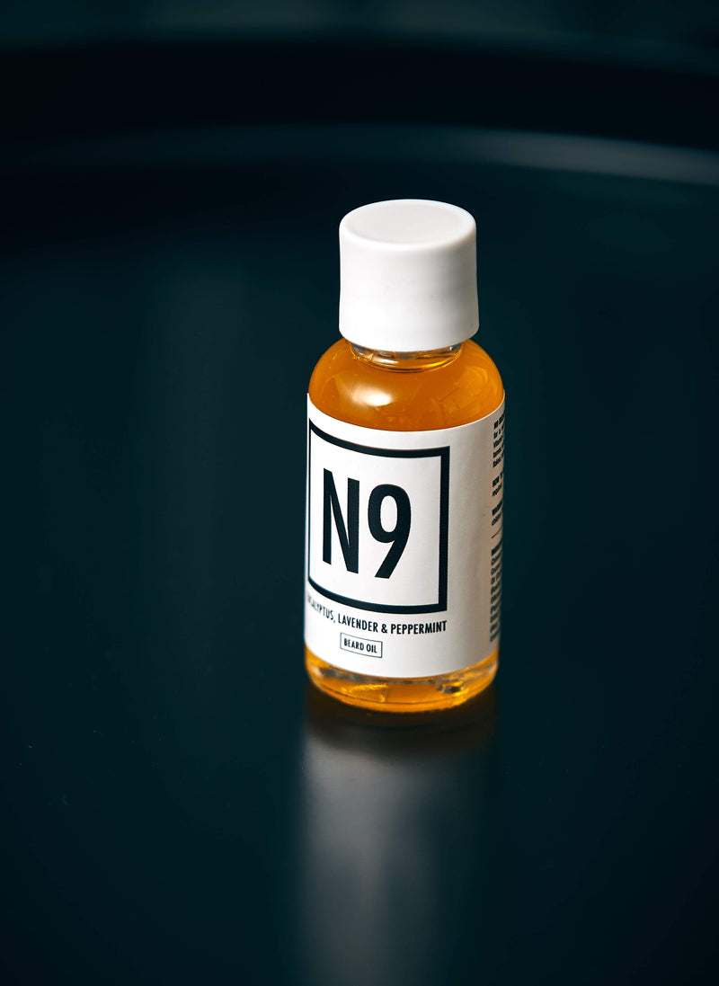 N9 Eucalyptus, Lavender & Peppermint Beard Oil