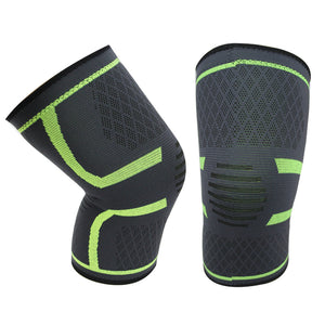 Knee Compression Sleeve - Patella Stabilizer & Support Brace