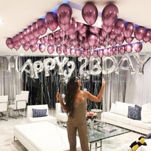 "Load image into Gallery viewer, 12"" Shiny Chrome Latex Balloons"