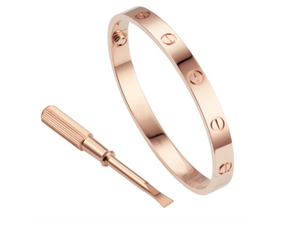 LOVE BANGLE BRACELET WITH SCREW DRIVER
