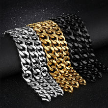 Load image into Gallery viewer, Gold Cuban Link Bracelet
