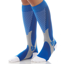 Load image into Gallery viewer, Best Compression Socks Blue