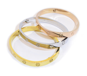 Love Style Bangle Bracelet