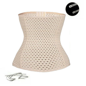 Beige Body Shaping Corset Waist Trainer