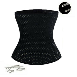 Black Corset Body Shaper Waist Trainer