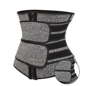 Waist Trainer - Neoprene Body Shaper Waist Training Corset with Waist Clincher Belt