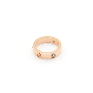 Love Style Inspired Ring