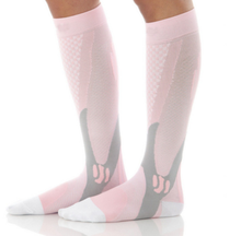 Load image into Gallery viewer, Pink Compression Socks