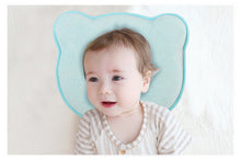 Load image into Gallery viewer, Hidetex Baby Bear Pillow - Preventing Flat Head Syndrome (Plagiocephaly) for Your Newborn Baby,Made of Memory Foam Head- Shaping Pillow and Neck Support (0-12 Months) 100% Guarantee
