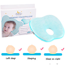 Load image into Gallery viewer, Hidetex Baby Apple Pillow - Preventing Flat Head Syndrome (Plagiocephaly) for Your Newborn Baby,Made of Memory Foam Head- Shaping Pillow and Neck Support (0-12 Months)