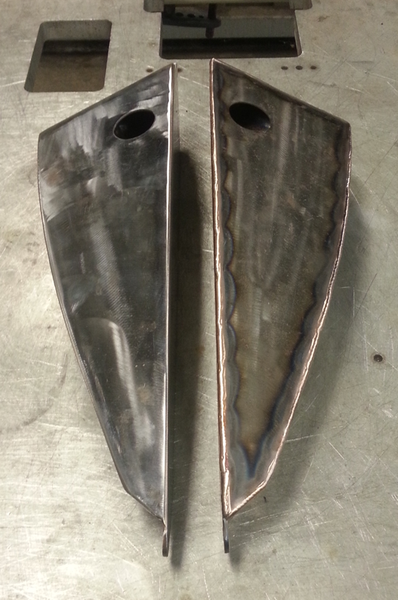 Arrow Split Motorcycle Gas Tank