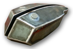 Rocket Split Motorcycle Gas Tank