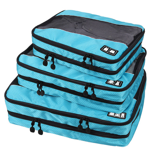 BAGSMART Travel Packing Cube (Small-Large 3 Piece) for Carry-on.