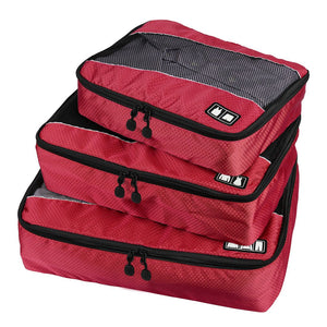BAGSMART Travel Packing Cube (Small-Large 3 Piece) for Carry-on Travel Accessories