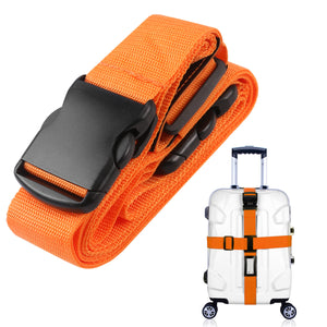 Cross Style Suitcase Luggage Packing Belt Stripe