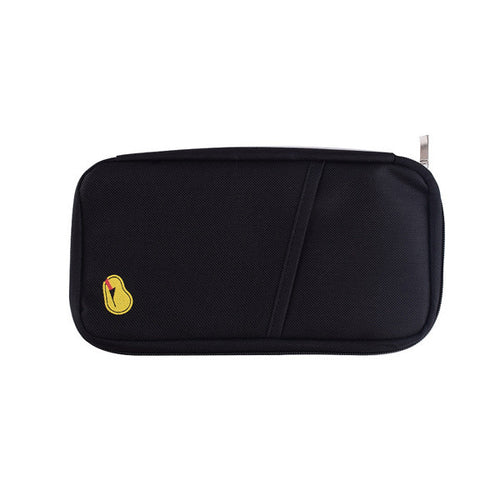 Zipped Travel Wallet - Assorted Colors