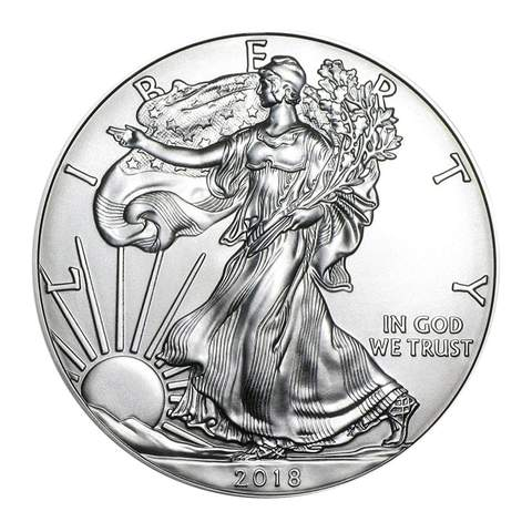 US Silver Eagles
