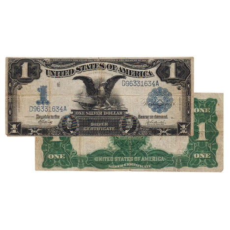 $1 - 1899 Black Eagle Silver Certificate - Very Fine
