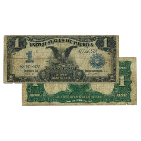 $1 - 1899 Black Eagle Silver Certificate - Very Good